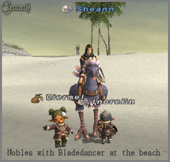 Inorelin, Ciermel and Sheann, FFXI TaruTaru of Fenrir