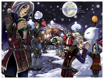 FFXI Happy Holiday