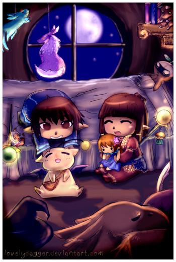 FFXI Fan Art, LovelyDagger, Daggy, Fanfest
