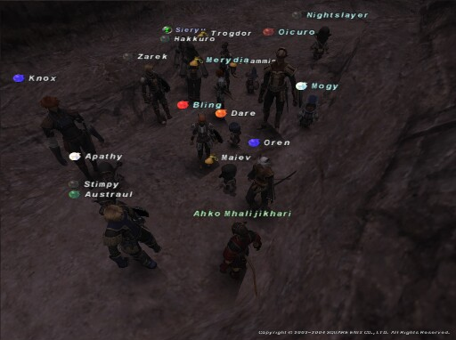 The Alliance for Mission 2-1, back in 2004!