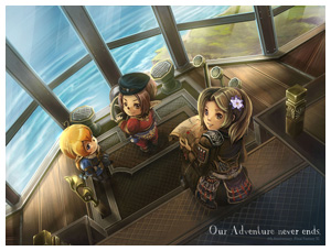 Our Adventure Never Ends, FFXI 8th Anniversary by Lurazeda