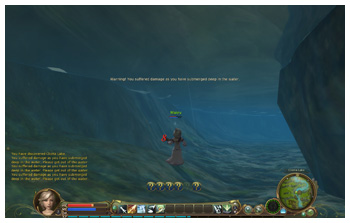 Cannot Swim in Aion