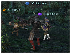 Elagost, Vikins, Burtac and Maiev exping with Colibri, FFXI Maiev of Fenrir