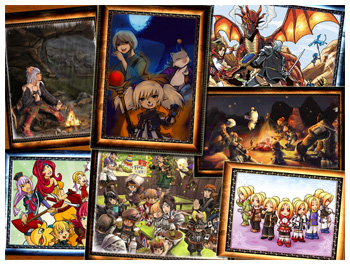 7th Anniversary FFXI Fan Art Drawing Contests