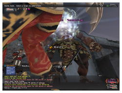 Besiege NM, Bomb, Level 6, FFXI Alzahbi of Fenrir