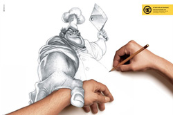 Hands Drawn on hands :O