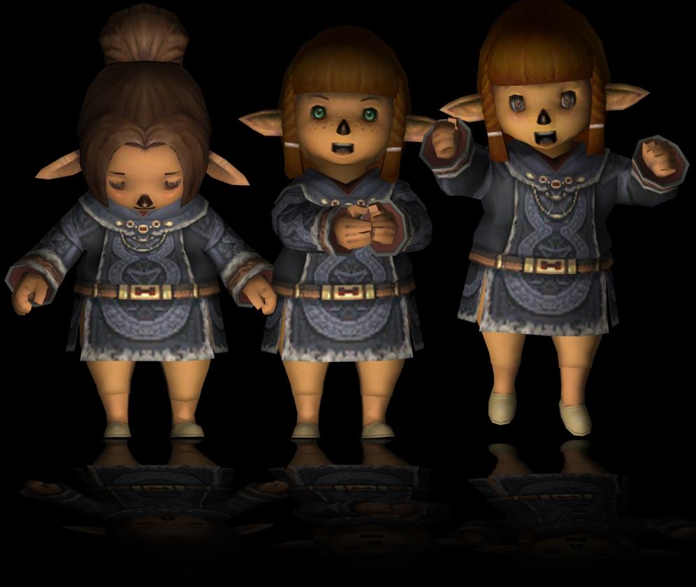 Maiev, DAT, 3ds, rendering, Female Taru, f5a, FFXI