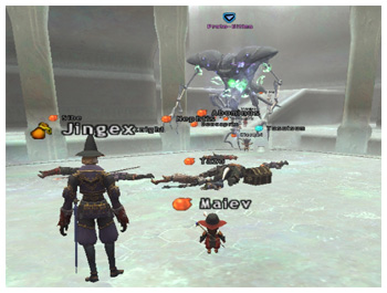 Ultima in Temenos, Maiev of Fenrir DuckHUNT, Lots of Dead FFXI Players