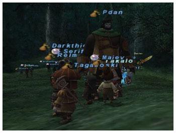 Dragon Aery, Fenrir, Omen, FFXI