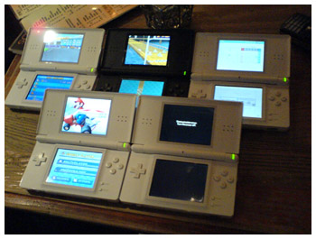 DS Light in Stacks, Mario Kart DS Party