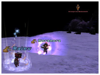 Roranora and Maiev at Apollyon