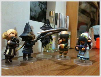 TaruTaru Figurine Collection, FFXI TaruTaru