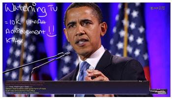 FFXI Obama, Fan Art, Drawing