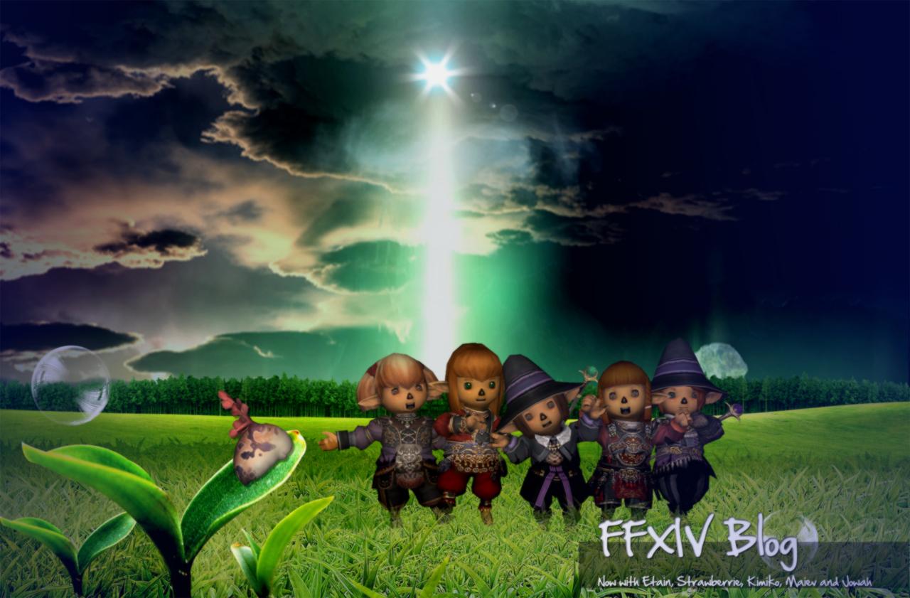 Strawberrie, Jowah, Maiev, Etain, Kimiko, FFXIV Blog