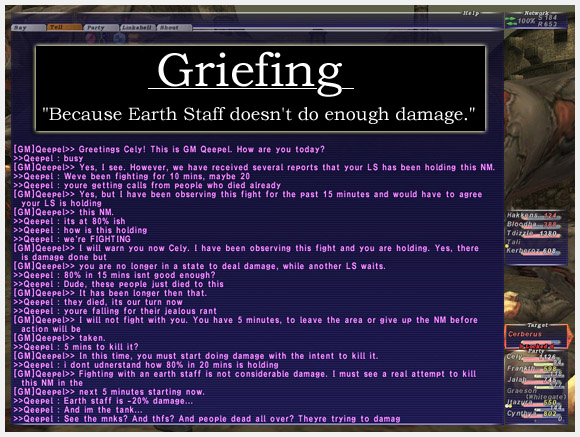 Griefing