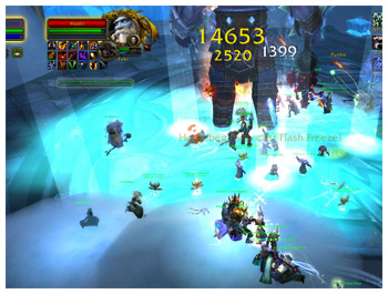 Hodir in Ulduar, 25 Man Raid Instance in WoW WotlK, DPS Meter, Hunter Survival