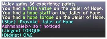 Jailer of Hope, Hope Torque, Al Taieu, FFXI, Fenrir