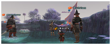 Jailer of Justice, Maiev, AlTaieu, Bubian and Abominus, DuckHUNT of Fenrir FFXI