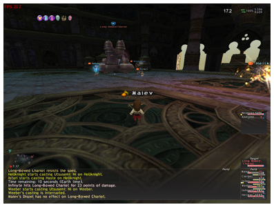Long Bow Chariot, FFXI DuckHUNT of Fenrir, Salvage