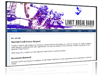 Limit Break Radio, FFXI Podcasts