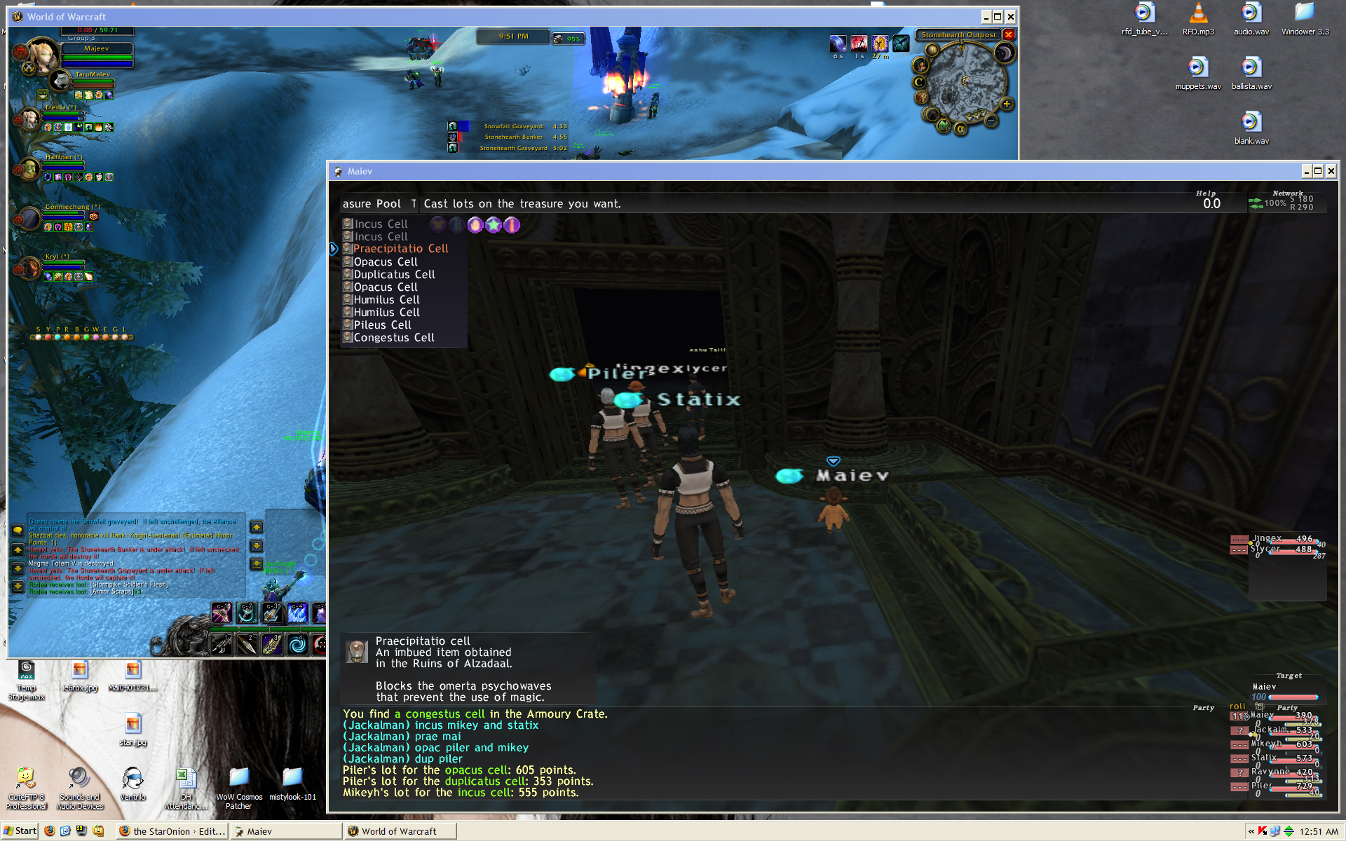2boxing, WoW, FFXI, Running 2 Game