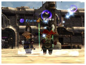 Etain and Maiev on FFXI Fenrir's Besiege as RDM and WHM