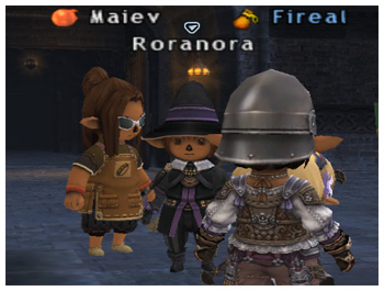 Roranora, FFXI DuckHUNT of Fenrir, Fireal, TaruTaru, Black Mage