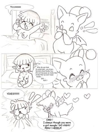 Taru Boobs Comic