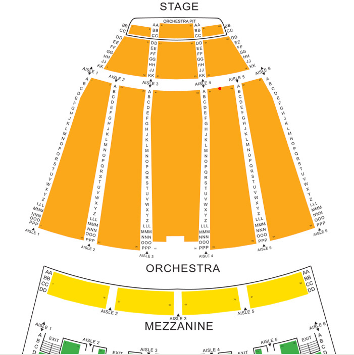 28 Sony Centre Seating Chart Massey Seating Map