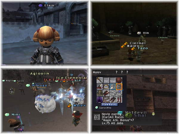 Dead Etain gettin Reraised, FFXI Taru of Fenrir Server