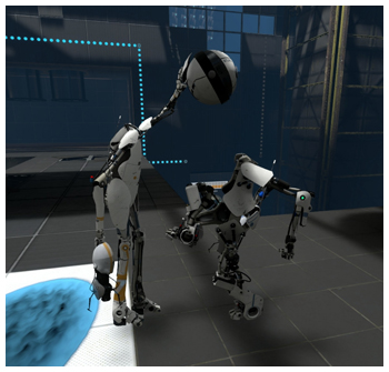 Otak Mai in Portal 2 Co-op :)
