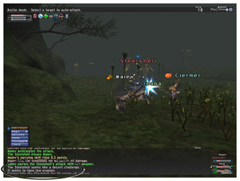 How to Parrying Skillup, Maiev on Taru Samurai, FFXI, Parrying Skill, Exp while Skillup Parrying