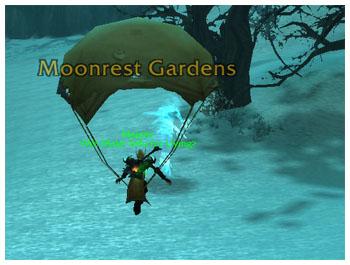 Parachute, WoW