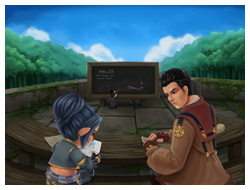 FFXI Fanart - Pay Attention! by blackash