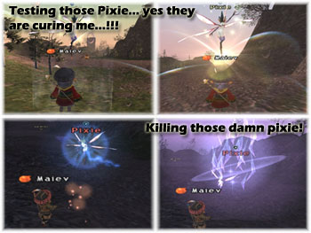 Wings of the Goddess, FFXI, Pixie Hate