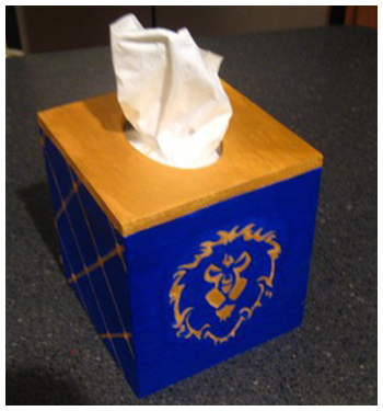 Arts and Crafts - Tissue Box