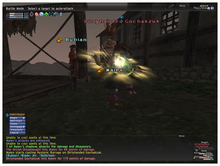 Windurst Mission 8-2, Davoi NM, Dirtyhanded Gochakzuk, FFXI