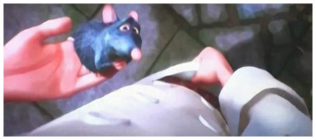 Ratatouille the Movie, Hiding Inside Pants