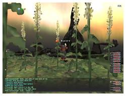 Tu'Lia, Sky, FFXI Light, Beautiful Screenshot of Maiev Taru on Fenrir, DuckHUNT