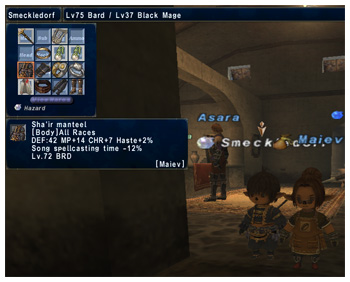 Stupid Smeckledorf, Wasting Maiev's Time, Sha'ir Manteel, FFXI Taru of Fenrir Server,