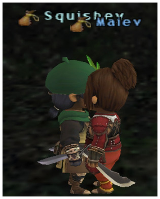 Squishey kiss Maiev! FFXI Fenrir Server