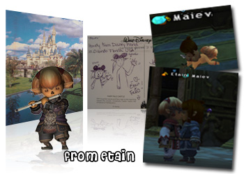 Etain, Maiev, Art, Post Cards, FFXI