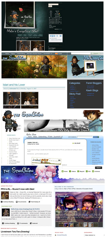 the StarOnion, Maiev, FFXI Website