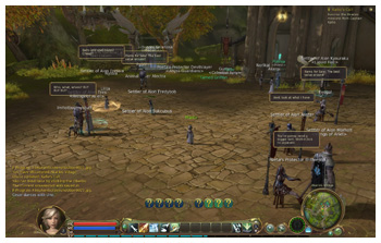 Quest Town in Aion