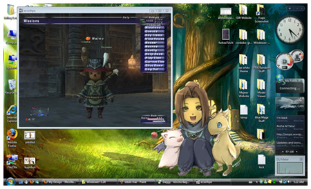Maiev, FFXI on Windows Vista Windower