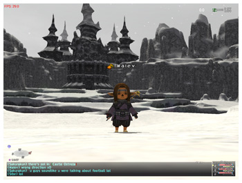 Castle Vazhl, FFXI with Windower