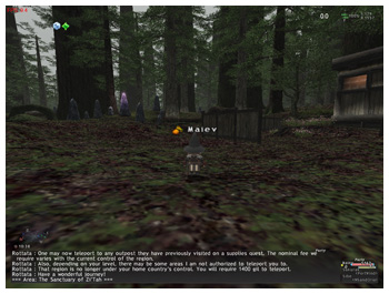 ZiTah with Draw Distance Plugin, FFXI Windower