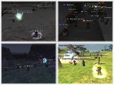 Campaign Battles, WotG, Fenrir, Maiev, FFXI