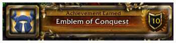 Emblem of Conquest, WoW, Ulduar