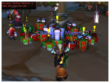 WoW, Xmas Event, Presents